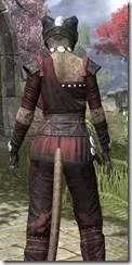 Jode & Jone Medium - Khajiit Female Close Rear