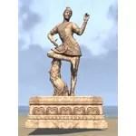 Ohmes-Raht Statue, Trickster