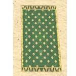 Elsweyr Carpet, Gold-Emerald