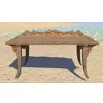 Elsweyr Desk, Elegant Wooden