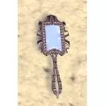Elsweyr Hand Mirror, Rectangular