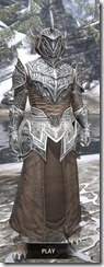 Meridian Homespun - Argonian Male Robe Front