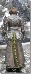 Meridian Homespun - Argonian Male Robe Rear