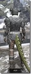 Meridian Rawhide - Argonian Male Rear
