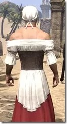 Tavern Maid - Male Close Rear