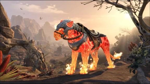 Blazeborn Senche-Lion