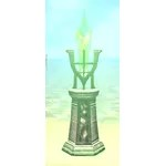 Crystal Sconce, Green