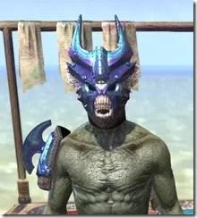 Opal Troll King - Argonian Male Front
