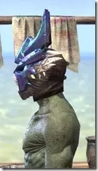 Opal Troll King - Argonian Male Side