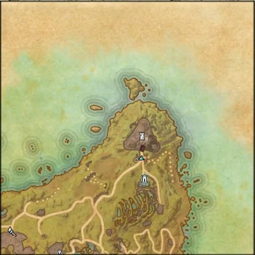 Psijic Merchant Map