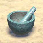 Elsweyr Mortar and Pestle, Engraved