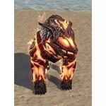 Flame Atronach Bear Cub