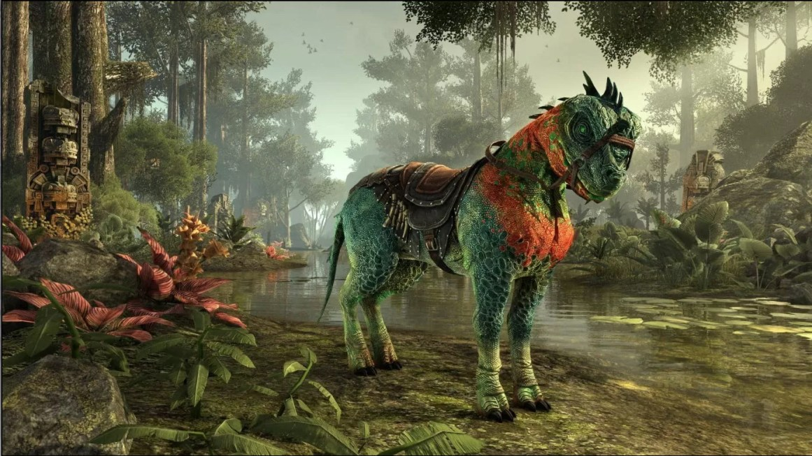 Wasseek Horse-Lizard