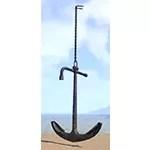 Anchor, Hanging