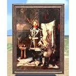 Jarl of Morthal Painting, Wood