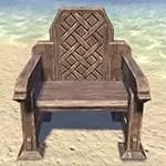 Solitude Armchair, Ornate Low