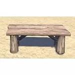 Solitude Bench, Rustic