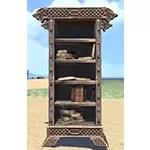 Solitude Bookcase, Narrow Noble Filled