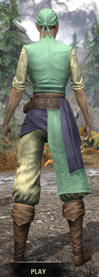Innkeeper - Dyed Rear