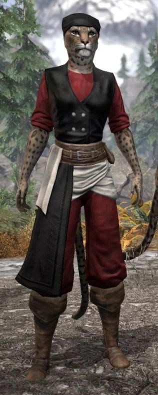 Innkeeper - Khajiit Female Front
