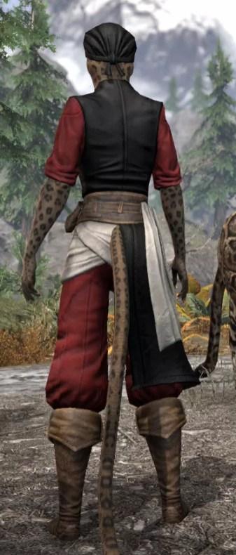 Innkeeper - Khajiit Female Rear