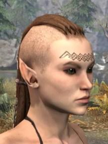 Karthwatch Guardian Face Tattoo - Female Side