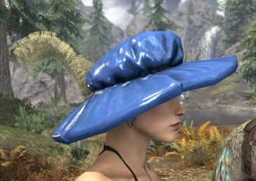 Spirited Soubrette Round Cap - Dyed Right