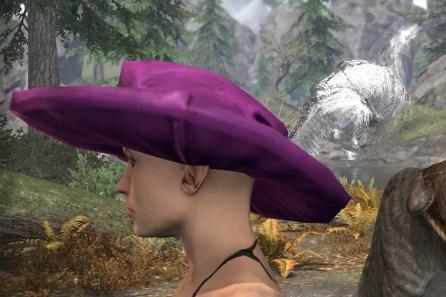 Spirited Soubrette Round Cap - Female Side