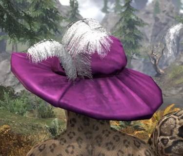 Spirited Soubrette Round Cap - Khajiit Female Rear