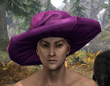 Spirited Soubrette Round Cap - Male Front