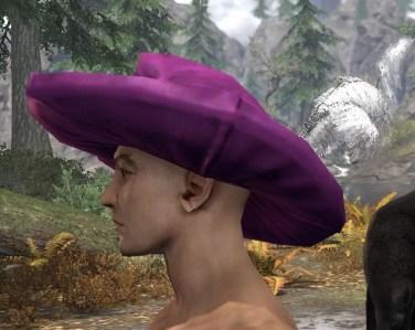 Spirited Soubrette Round Cap - Male Side