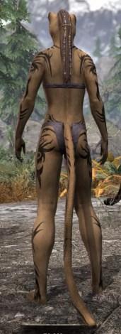 Umbral Snarl Body Markings - Khajiit Female Rear