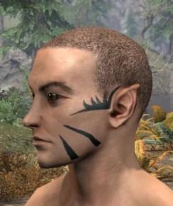 Umbral Snarl Face Markings - Male Side