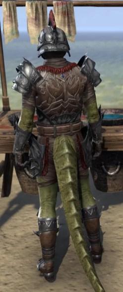 Legion Zero Vigiles - Argonian Male Rear