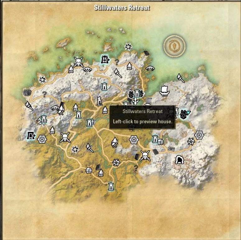 Stillwaters Retreat Map 1