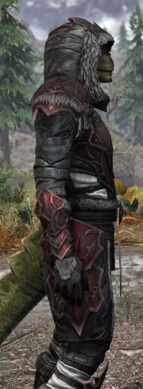Thorn Legion Heavy - Argonian Male Close Side