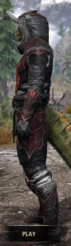 Thorn Legion Heavy - Argonian Male Side
