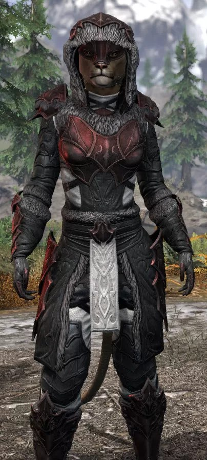 Thorn Legion Heavy - Khajiit Female Close Front