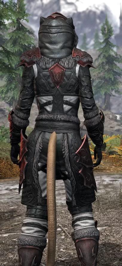 Thorn Legion Heavy - Khajiit Female Close Rear