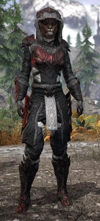 Thorn Legion Heavy - Khajiit Female Front