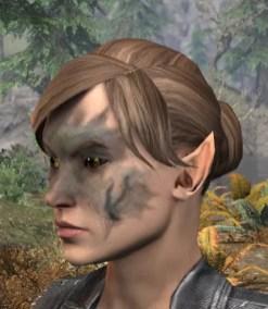 Maddening Mishap Face Markings - Female Side