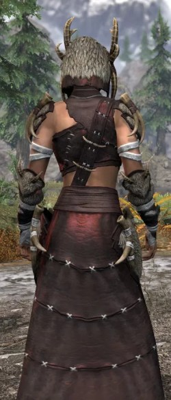 Ancestral Reach Light - Female Robe Close Rear