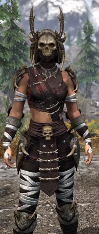 Ancestral Reach Light - Female Shirt Close Front