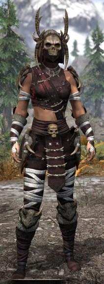 Ancestral Reach Light - Female Shirt Front