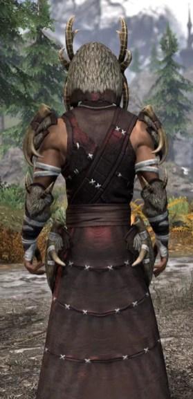 Ancestral Reach Light - Male Robe Close Rear