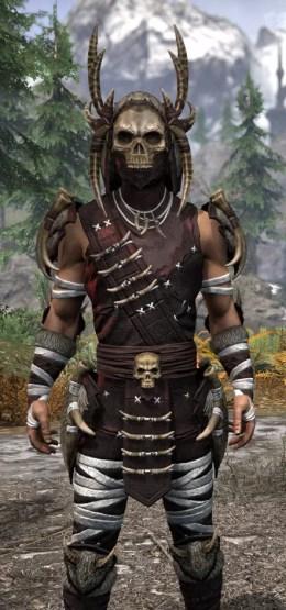 Ancestral Reach Light - Male Shirt Close Front