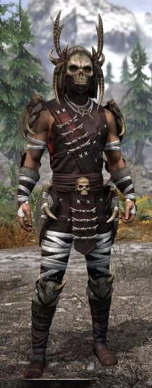 Ancestral Reach Light - Male Shirt Front