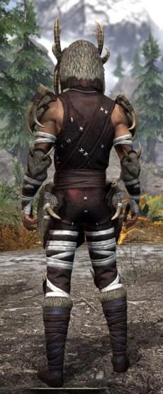 Ancestral Reach Light - Male Shirt Rear