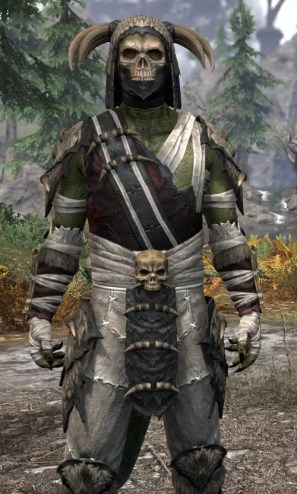 Ancestral Reach Medium - Argonian Male Close Front