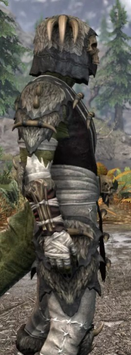 Ancestral Reach Medium - Argonian Male Close Side
